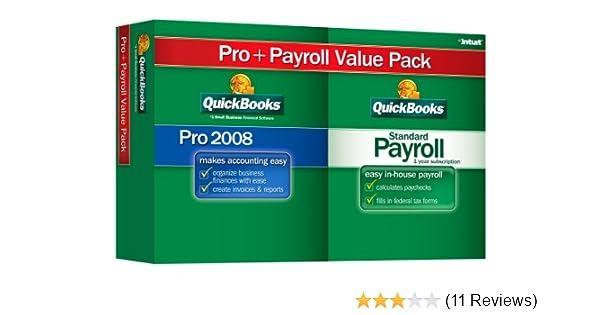 QuickBooks Pro 2008 W/Payroll 2008 [OLDER VERSION]