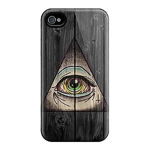 AnnetteL Fashion Third Eye Symbol For HTC One M7 Case Cover
