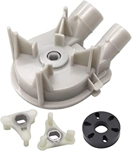 Primeswift 3363394 Washer Water Drain Pump & 285753A Motor Coupling Kit,Replacement for Whirlpool Kenmore 3352492,3348215,3352292