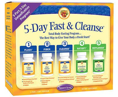 Nature's Secret 5-Day Fast and Cleanse Kit *New