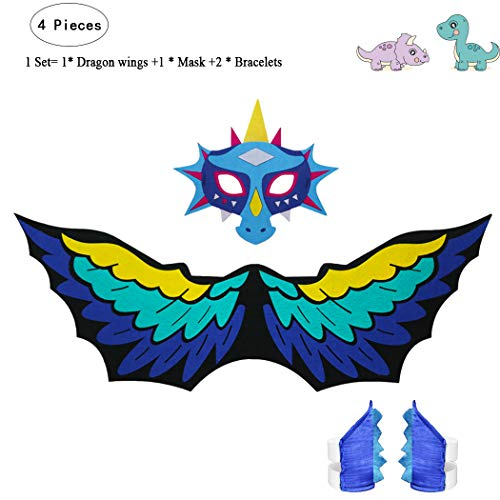 Brilliant Special L27* Cartoon Dance Costume Beautiful Girl Fairy Princess Costume Cape Mask Bracelet Gifts Party Kids Christmas Toys Girls Costumes