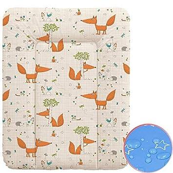 Baby Auflage Wickelauflage 3 in 1 Wickelunterlage Wickeltischauflage mit Schutz