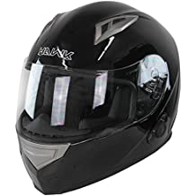 Hawk H-510 Glossy Black Bluetooth Full Face Helmet - Large