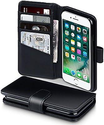 APPLE - Cover in Pelle per iPhone 8 Plus / 7 Plus Colore Grigio