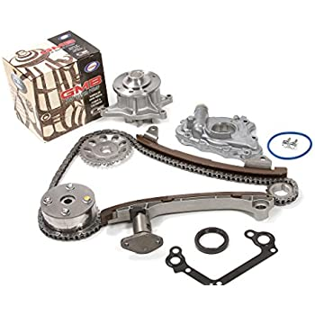 Evergreen TK2042GWOP Toyota 2ZZGE Timing Chain Kit w/ Water Pump & Oil Pump (with VVTi Gear)