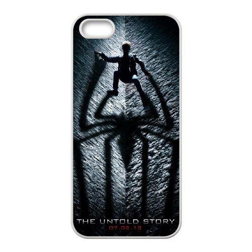 Pictures Of Spiderman 016 coque iPhone 5 5S Housse Blanc téléphone portable couverture de cas coque EEEXLKNBC18529