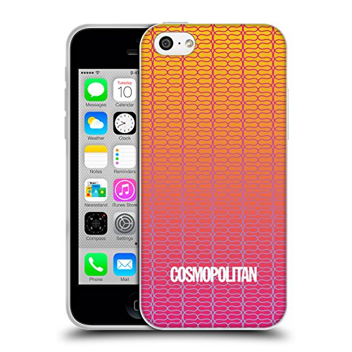 Official Cosmopolitan Ombre 3 Fun Summer Soft Gel Case for Apple iPhone 5c