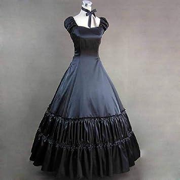 QAQBDBCKL Elegante Vestido Victoriano Vintage Clásico para ...