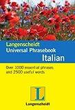 Langenscheidt Universal Phrasebook Italian, Langenscheidt, 3468989865