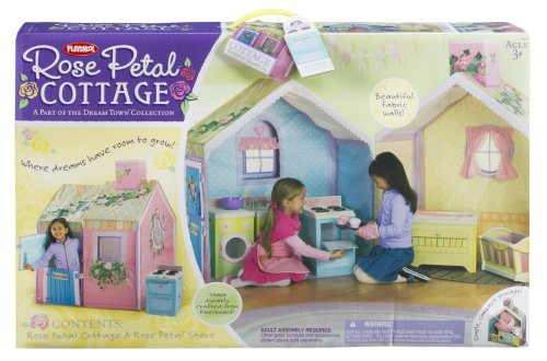 Playskool Rose Petal Cottage Playhouse Dream Town