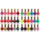 SXC Cosmetics 36 Color Cosmopolitan Collection Nail Lacquer, Professional Quality & Quick Dry, 12ml/0.5oz Each, Perfect Gift for Holiday