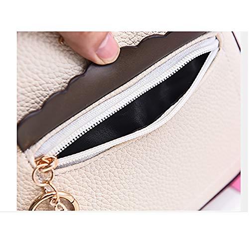 spalla Piccola versione femminile New donna Messenger Wave zaino singolo selvaggio coreana borsa del da Bag moda 2018 borsa spalla IrHYwxqZr