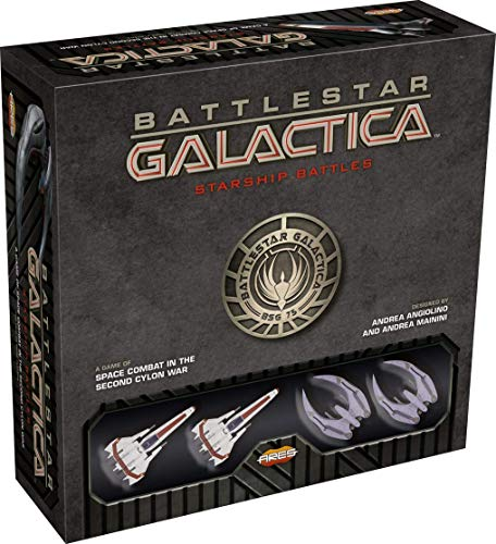 Ares Games srl Battlestar Galactica: Starship Battles Starter Set