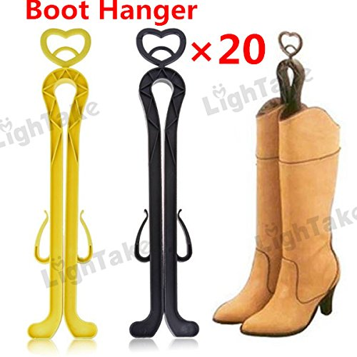 GreenSun(TM) Long Boots Shoes Stand Holder Boot Support Shoe Hanger Shaper 20pieces