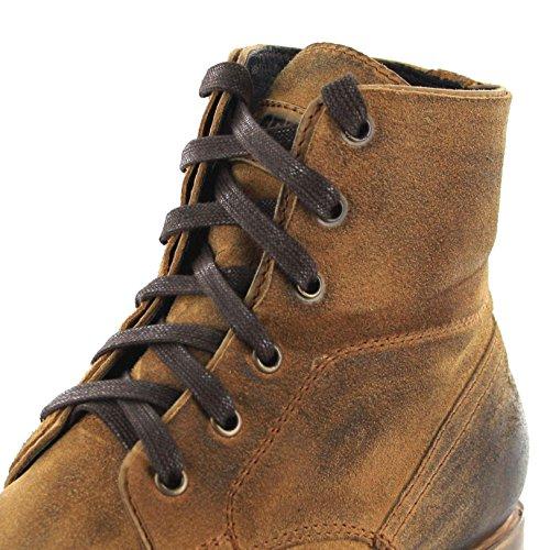 Sendra Boots Bernie 11934 Serramex Negro/Herren Urban Boot/Schnürstiefel Schwarz Serraje Camello