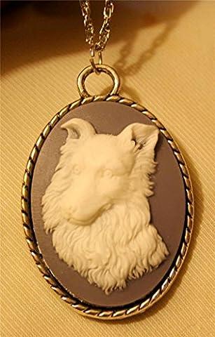 Roped_Rim_Wedgewood_Blue_White_Sheltie_Dog_Shetland_Silvertn_Pendant_Necklace (Wedgewood Pendant)