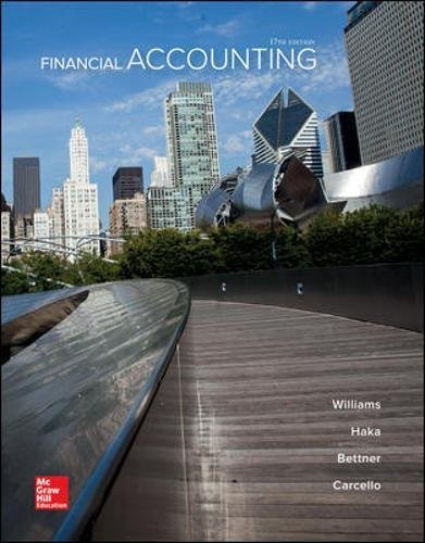 Financial Accounting by McGraw-Hill Education