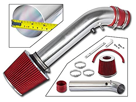 Filter Combo RED For 96-00 Honda Civic EX//HX Rtunes Racing Short Ram Air Intake Kit
