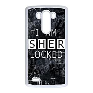 LG G3 phone cases White Sherlock cell phone cases Beautiful gifts YWLS0484465