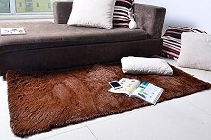 KLOUD City Super Soft Modern Shag Area Rugs Living Room Carpet Bedroom Rug  For Children Play