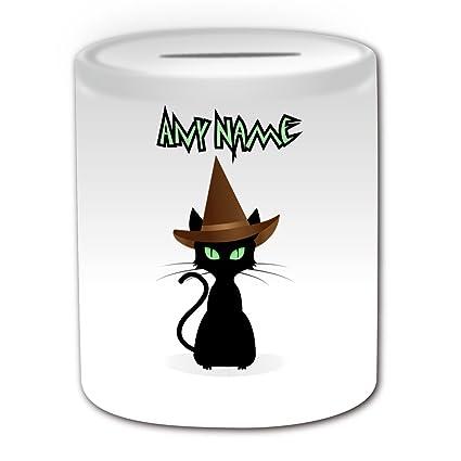 Regalo Personalizzato Salvadanaio A Forma Di Gatto Con Cappello Da