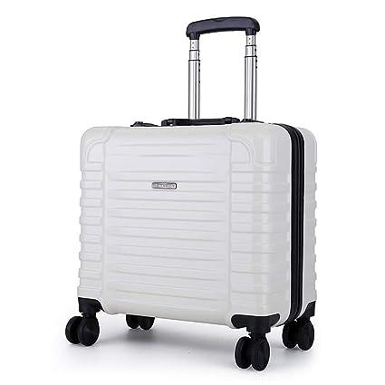 PC Hard Shell 4 ruedas Ligero Maleta para equipaje de mano en la cabina con bloqueo
