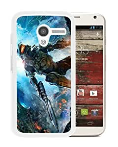 Niche market Phone Case Halo The Master Chief Collection White Motorola Moto X Phone Case
