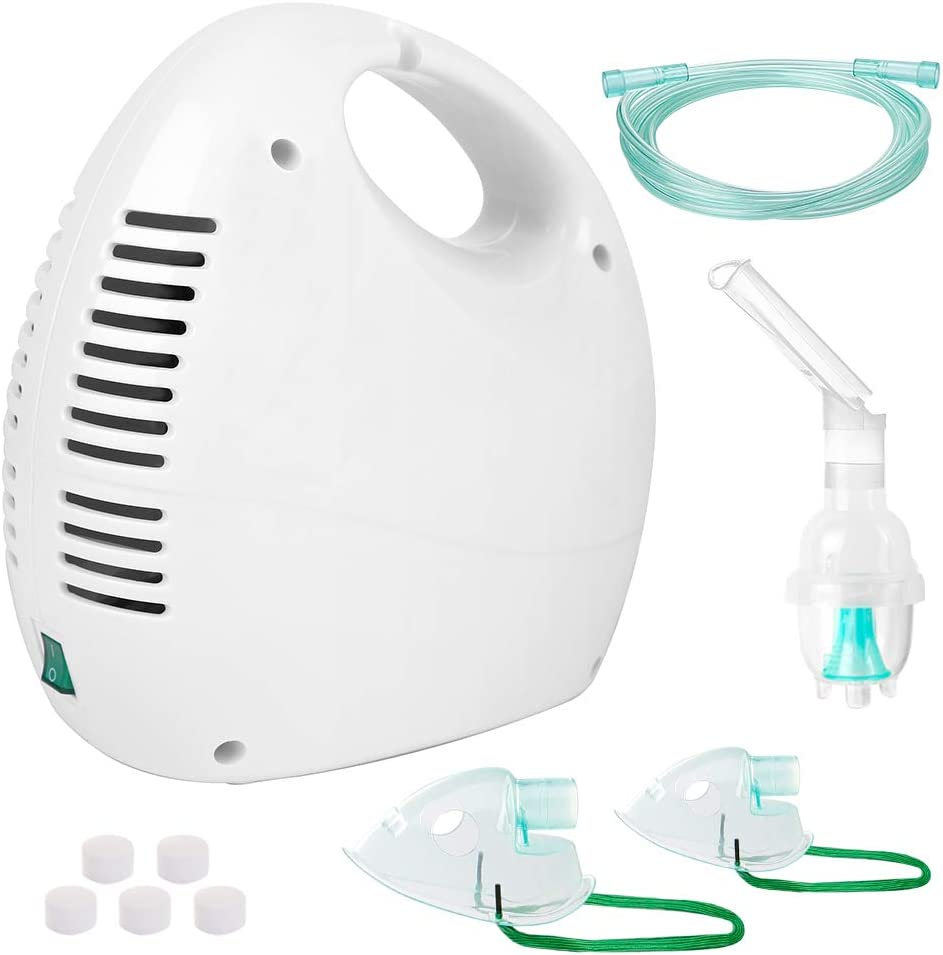 Portable Compact, Portable and Reliable for Adult and Child Daily Use - Comes with Full Kits, White