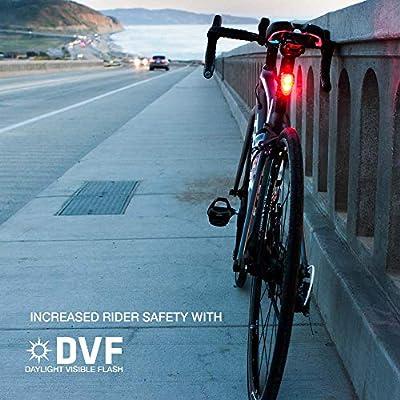 Niterider SOLAS 250 LM DEL Vélo Feu arrière rechargeable USB Lumière Visible