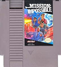 NES Mission Impossible Video Game USED