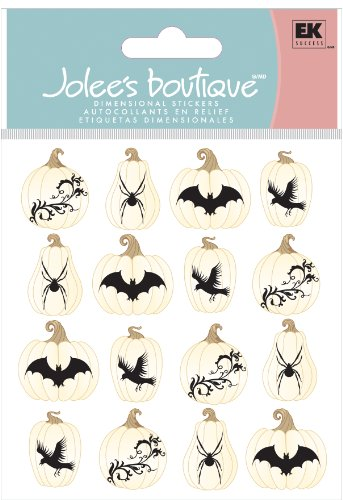Jolee's Boutique Dimensional Sticker, Icon (Halloween Vine Bats)