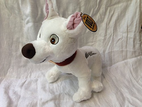"Disneyland Paris Disney Bolt Dog 12"" Standing Plush Doll"