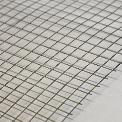 "2 Pack 8ftx4ft Wire Mesh Panels Galvanised Steel 2/"" Grid Security Fencing Dogs"
