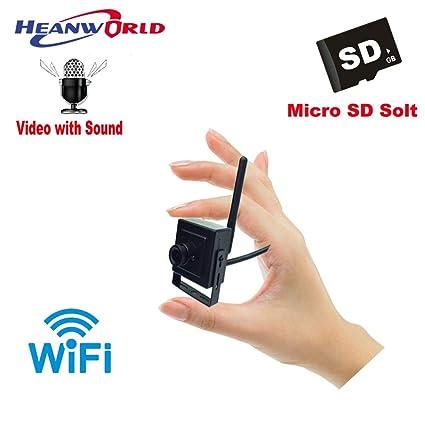 Buy Heanworld Mini IP Wireless Security Audio CamHi App CCTV Online
