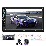 "Double din Car Stereo - Hikity 7"" inch Touch Screen Double Din Head"