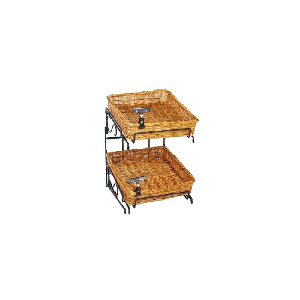 2-Tier Counter Display Rack by Mobile Merchandisers