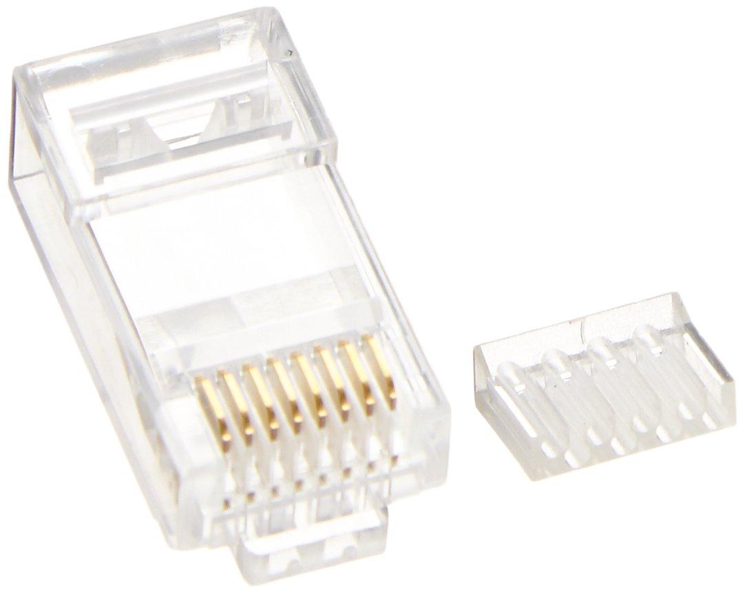 Platinum Tools 106188J Platinum RJ45 Cat6 Round Solid 100/Jar