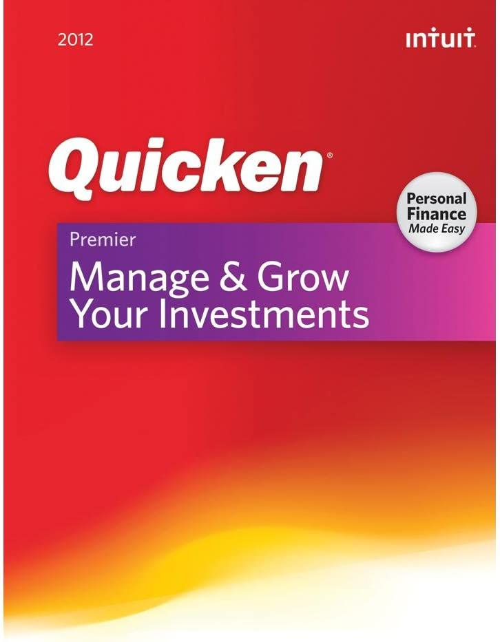 Intuit Quicken Premier 2012 - Windows