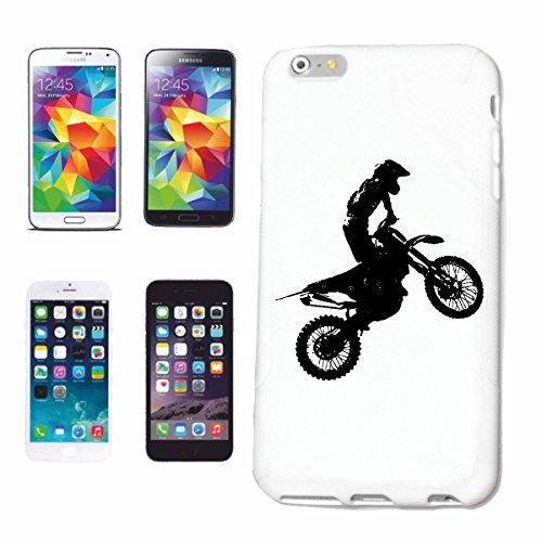 """cas de téléphone iPhone 6+ Plus """"MOTOCROSS SILHOUETTE 125cc MOTO-CROSS FREESTYLE MOTOCROSS MOTO SPORT VÊTEMENTS BIKER MOTO BIKE MACHINE"""" Hard Case Cover Téléphone Covers Smart Cover pour Apple iPhone"""