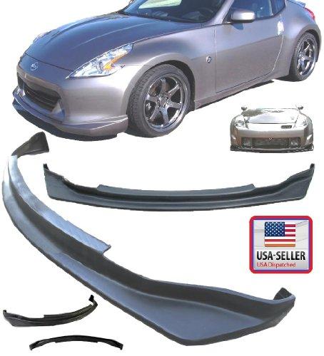 2006 2007 2008 2009 / 06 07 08 09 Nissan Z33 Fairlady Z 350Z Nis Style Poly Urethane PU Front Bumper Lip Kit