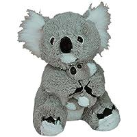Elka Australia 60111-24BA Koala with Baby Soft Plush Toy, 24 Centimeters