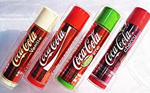 Coca Cola Lip Smacker Balm Set- 4 pieces