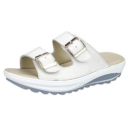 422e90227abcf Amazon.com  Summer Beach Slipper For Women Casual Sandals Peep Toe Platform  Soft Shoes Toponly  Appliances