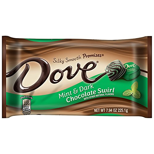 nd Dark Chocolate Swirl Candy 7.94-Ounce Bag (Pack of 12) ()