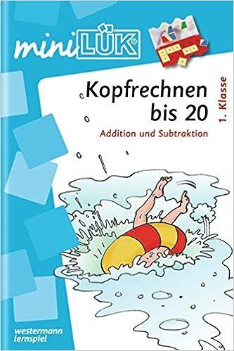 miniLÜK: Kopfrechnen bis 20: Addition und Subtraktion 1. Klasse ...