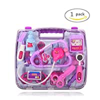 Shindel Simulation Medicine Box ,Doctor Toys Set ,Doctor Nurse Medical Kit Playset for Kids Child Care Box, Doctor Tools Toys