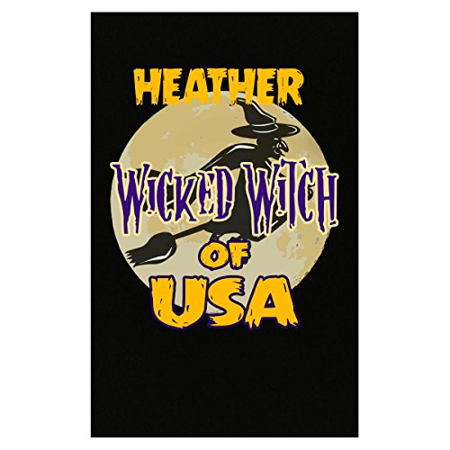 Prints Express Halloween Costume Heather Wicked Witch of USA Great Personalized Gift - Poster]()