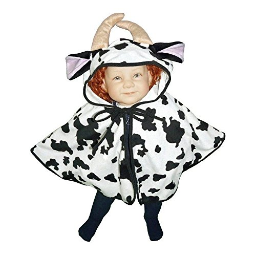 Cow Costumes Infant (Fantasy World Cow Halloween Costume f. Babies and Toddlers, One Size, J55)