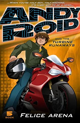 book cover of Andy Roid & the Turbine Runaways