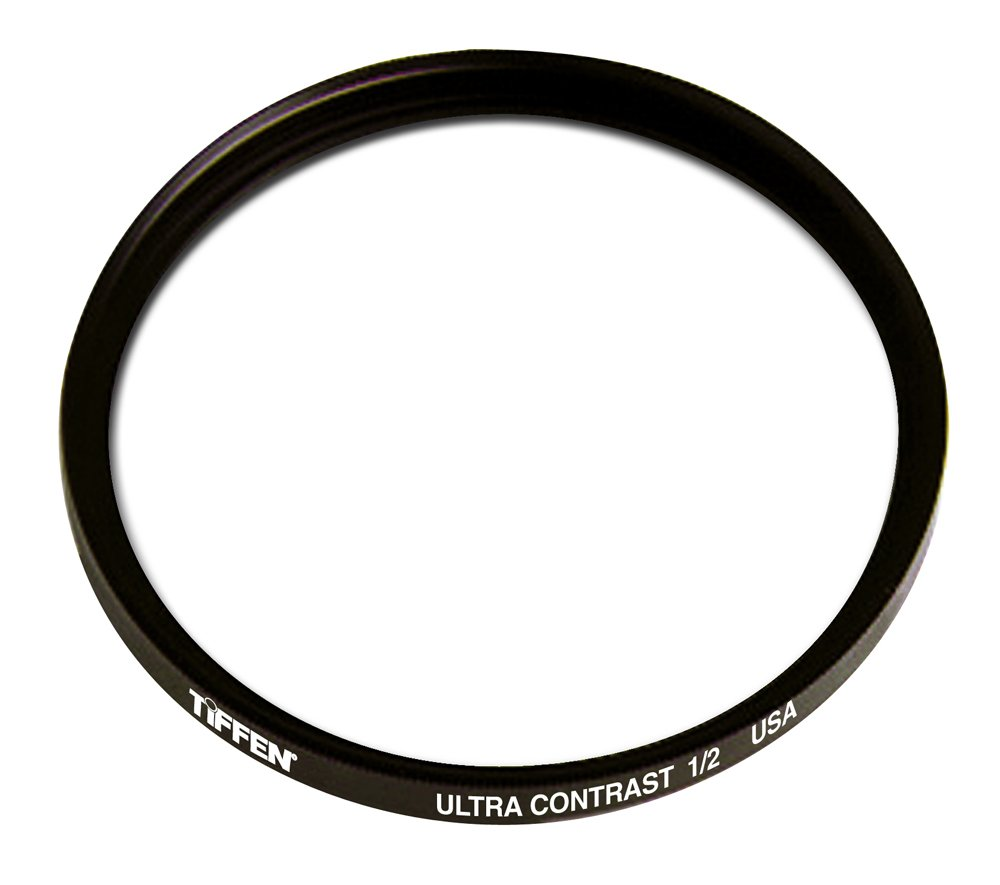 Tiffen 77UC12 77mm Ultra Contrast 1/2 Filter by Tiffen